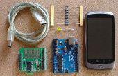 Cómo cambiar un Arduino salida de encendido y apagado de tu móvil Android.  Arduino para principiantes