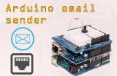 Remitente de correo electrónico Arduino Ethernet adaptador/escudo
