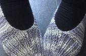 BRICOLAJE a rayas de hilo zapatillas