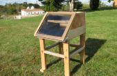 Deshidratador solar de alimentos (secador)