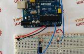 Luz Sensor LED sistema de Control de brillo con ATMEGA328 UNO V3.0 R3 para Arduino