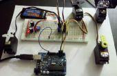 Serial Servo Controller w/Arduino - Control hasta 12 Servos a la vez utilizando el Arduino y una conexión USB
