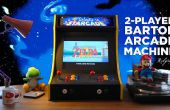 2-jugador Bartop Arcade de la máquina (Powered by Pi)