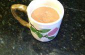 Deliciosa almendra leche caliente Chocolate saludable