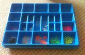 Cómo ordenar telar bandas bandeja Lego