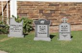 Lápidas de Halloween