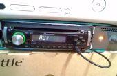 Single Din coche Radio Box/Caja