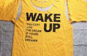 T bricolaje camisa bolsa con brillo!! no sew!!!!