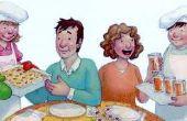 El reto de cena familiar: Juego en!