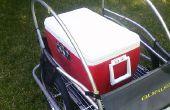 Más fácil moto trailer de carga nunca!