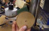 Polea de madera sin un torno