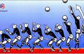 Cómo establecer un voleibol