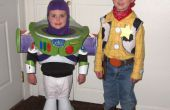 Buzz Lightyear y Woody trajes