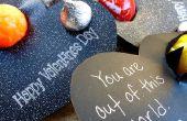 «Eres fuera de este mundo!» Niños San Valentín