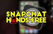 Como: Registro sobre Snapchat usando ningunas manos Quenisha Baldwin