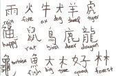 Cómo escribir en Chino!!!!!!