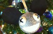 Cómo hacer un ornamento de la Navidad de Deadmau5 que ilumina!