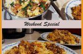 Receta de Biryani del pollo de la capa | Cocinada a fuego lento arroz y pollo Receta