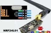 Arduino con NRF24L01 Rf módulo