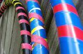 Tubo de PVC DIY del hula