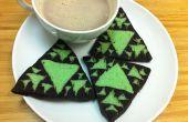 Las de Cookies Fractal triángulo de Sierpinski