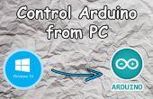 Controlar Arduino desde PC