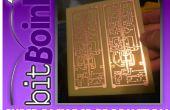 Prototipos PCB rápida y fácil con el vinilo!