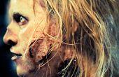 Caminar muerto estilo Zombie maquillaje cómo a