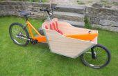 Bicicleta de carga de John largo