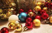 Centro de mesa Navidad tarro de vidrio DIY