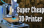 Impresora 3D super barata desde CD-ROM unidades