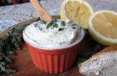 Mantequilla más fácil, más rápida desde cero (con opcional hierbas y limón)