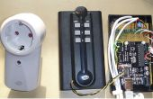 Sensores inalámbricos de 432 MHz y tomas de corriente para la automatización del hogar usando Arduino