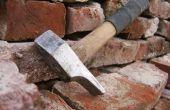 Limpieza de ladrillos viejos con 'Gustavs Hammer'