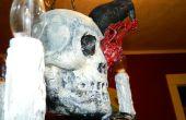 Araña de Halloween macabro