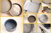 Cómo preparar pastel Latas/moldes