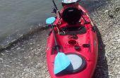 Aparejo carro de anclaje kayak