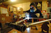 Construyendo una bicicleta zapata con un CNC ruteado marco el jiggernaut