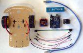 Arduino Uno y Visuino: controlar Robot coche Smart con Joystick y L298N controlador de Motor