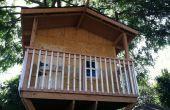 Construcción de una casa de árbol