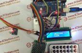 Matriz infrarrojos contraseña entrada sistema con Arduino