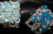 Ver cómo hacer un anillo de cristal impresionante 4-flor