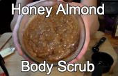 Exfoliante para el cuerpo almendras la miel