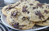 Chocolate Chip Cookies de infestado de araña