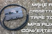 Cinta de cassette de DIY a convertidor de MP3 aux