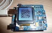 Un reloj basado en arduino de código QR