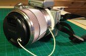 Soporte de tapa de lentes DIY para cámara