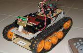 IR remoto controlado seguimiento Robot