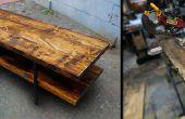 Construir una mesa de tablero granero viejo