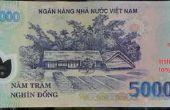 Detectar dinero vietnamita polímero falsos